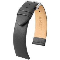 Hirsch Italocalf Lederband grau L 17822030-2-22 22mm