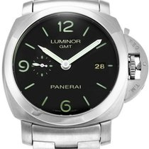 Panerai PAM00329 Luminor 1950 3 Days GMT Acciaio 44MM Black...