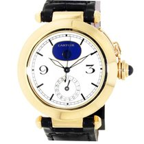Cartier 30001 Fine Astronomic Pasha 38mm Automatic in Yellow...
