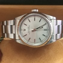 Rolex Midsize Oyster Perpetual. 31 mm stainless steel case