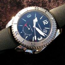 Girard Perregaux Sea Hawk Ii Ref. 4990 Steel Black Dial From...
