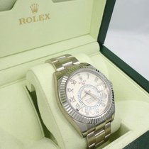 Rolex Sky-dweller 326939 18k White Gold Oyster Perpetual  Msrp...