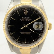 Rolex Oyster Perpetual Datejust 18k Yellow Gold Stainless...