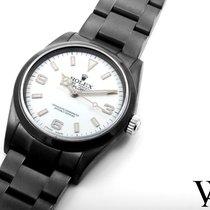 勞力士 (Rolex) 2004 PVD/DLC Explorer Custom White Dial 36mm -...