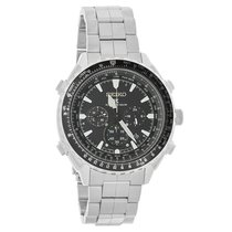 Seiko Prospex Mens Radio Sync Solar Chronograph Watch SSG001