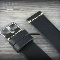 Leather watch strap CUOIO VINTAGE LARGE for Panerai 24 mm...