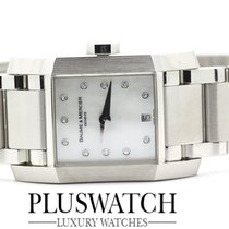 Baume & Mercier Ladies MOA08573 Steel Diamond Date Quartz...