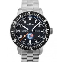 Fortis Pc-7 Team Edition Automatic Day/date Watch S/steel...