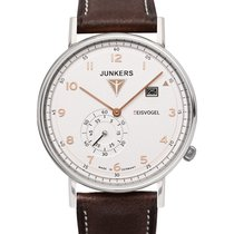 Junkers Eisvogel F13 Swiss Quartz Watch 40mm S/steel Case...