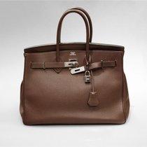 Hermès Birkin Bag (35cm) Togo Braun mit OVP & original...