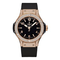 Hublot Big Bang 38mm Quartz 18K Rose Gold Mens Watch Ref...