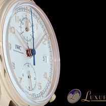 IWC Portugieser Classic Chronograph 42 18kt Rosegold | Helles...