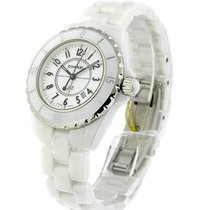Chanel H0968 J12 White - Small Size in White Ceramic - on...