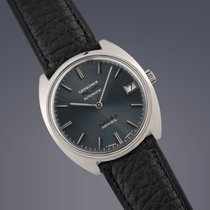 Longines Admiral steel automatic watch