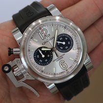 "Graham - Chronofighter Oversize Silver ""panda"" Dial..."
