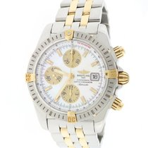 Breitling Chronomat Evolution 2-Tone Gold/Steel MOP Dial 44mm...