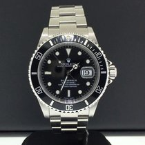 Rolex Submariner 16610 40mm Stainless Steel Black Dial...