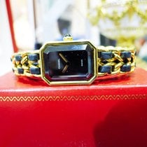 Chanel Premiere Gold Plated Quartz Watch Circa 1987