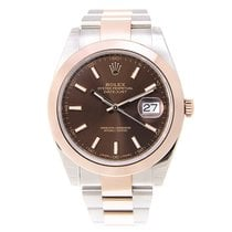 勞力士 (Rolex) Datejust 18k Rose Gold And Steel Brown Automatic...