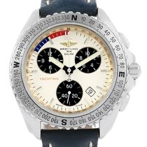 Breitling Aeromarine Chrono Shark Yachting Mens Watch A53605