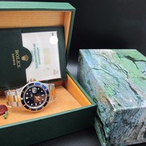 Rolex 1993 ROLEX SUBMARINER 16613 2-TONE BLUE DIAL WITH BOX...