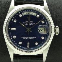 Ρολεξ (Rolex) Day-Date, 18 kt white gold, Ref. 1803, Diamonds...