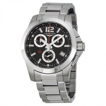 Longines Men's L37004566 Conquest Chronograph Watch