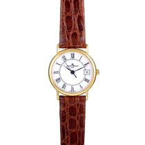Baume & Mercier Ladies Yellow Gold Quartz Watch MOAO5008