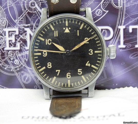 Uhr Auf Rechnung Bestellen : stowa b uhr ii ww weltkrieg 1940 fliegeruhr pilots watch ~ Themetempest.com Abrechnung