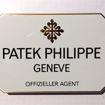"""Patek Philippe Konzessionär Dekorationsständer """"OFFIZIELLE..."""
