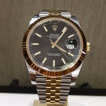 Rolex Datejust 41mm Steel and Yellow Gold 126333 Black Index