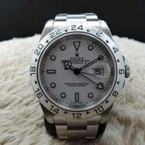 Rolex Oyster Perpetual Explorer 2 16570 Stainless Steel...
