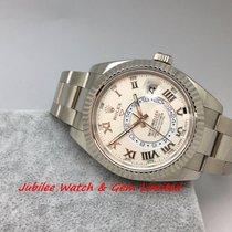 勞力士 (Rolex) Rolex 326939 Sky-Dweller White Gold 42mm W card Mint