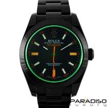 Rolex Milgauss 116400 BLACK VENOM LIMITED EDITION /35 DLC PVD