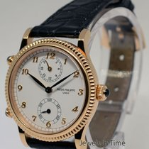 Patek Philippe Ladies Travel Time 18k Rose Gold Watch &...
