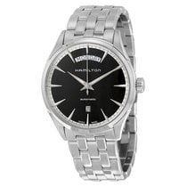 Hamilton Men's Jazzmaster Automatic Black Dial Watch