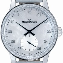 Meistersinger Karelia Diamond light pearl, 34mm