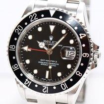 Rolex GMT Master II Stahl Ref.16710 Papiere Kasten von 2004