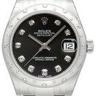 Rolex Datejust 31 Ref. 178344 Schwarz DIA