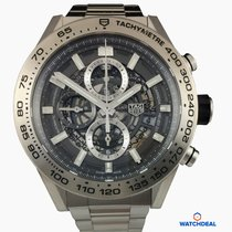 TAG Heuer Carrera Calibre HEUER 01 Autom Chrono45mm Grey...