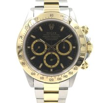 Rolex Daytona Zenith 16523 Gold and Steel with papers