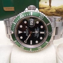 Rolex Submariner Green RRR never polished