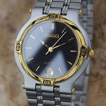 Gucci 9000m Swiss Made Stainless Steel Men's Luxury Dress...