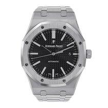 Audemars Piguet Royal Oak 41mm Stainless Steel Black Dial Watch