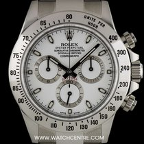 Rolex Stainless Steel O/P White Dial Cosmograph Daytona...