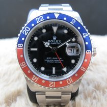 Ρολεξ (Rolex) GMT MASTER 16700 Pepsi Red/Blue Bezel A Serial...
