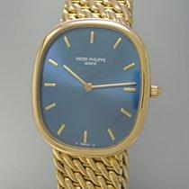 Patek Philippe Ellipse 18k Gold/ Gold  Automatik, Ref. 3738...