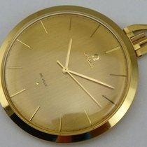 Omega De Ville Taschenuhr - Gold 750 - Cal. 601 - um 1968