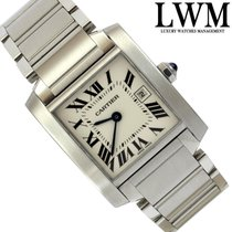 Cartier Tank Francaise 2465 Medium quartz Full Set 2006's