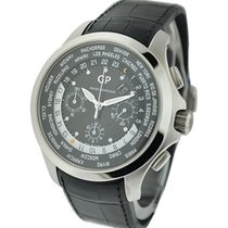 Girard Perregaux 49700-11-631-BB6B World Time Chronograph...
